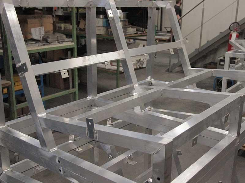 Struttura in alluminio
